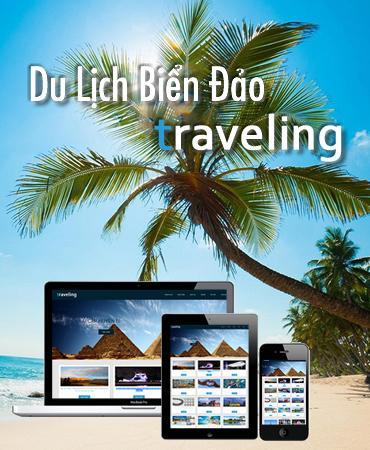 Web du lịch